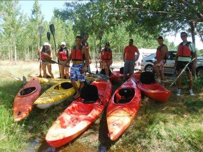 Canoeing in Ciudad Rodrigo