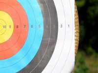 Your success depends on whereabouts the arrow lands in archery