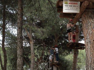 Adventure Park Track for Kids in Torrelodones 1h