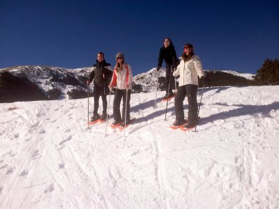 2-hour snowshoeing tour in La Molina