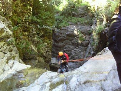 Canyoning in Trigoniero (Huesca)