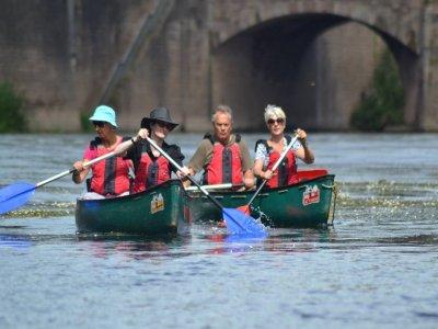 Half day canoe trip River Wye
