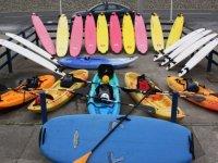 Our kayak gear