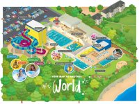 tHE MAP OF Alpamare Scarborough Water Park!