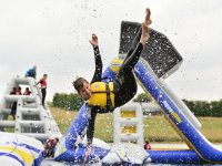Enjoy extreme slides in  Aqua Park Rutland!
