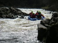 Our location provides perfect rafting conditions