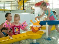 The pool for toddlers in Splash World Southport!