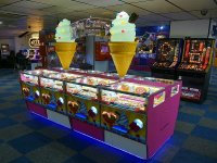 The arcade at Knightly's Fun Park