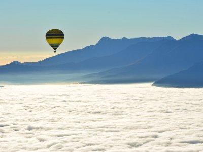 Hot air balloon ride for children, Barcelona