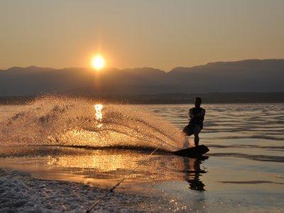 30 minute wakeboard in Asturias