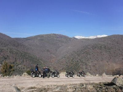Quad ride on Sierra de Gredos with pictures 2h