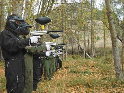 Paintball with 200 paintballs in Guadalajara