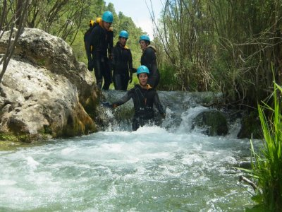 Canyoning in Cuenca with a barbecue