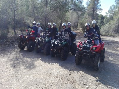 Two-seater quad trip in Benidorm for 2 hours