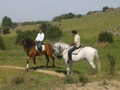 Horse riding trip in Segovia for a stag/hen do