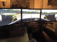 Our simulator in Stonerig Raceway