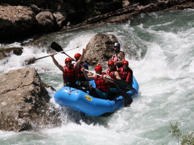 Rafting with hospitality