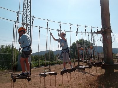 English-adventure camp, 2 weeks in Valence