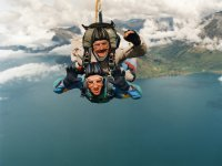 Tandem Skydive over the sea