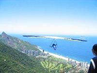 Gliding over the sea