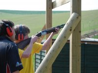 Try your hand at some clay pigeon shooting.