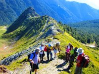 Hiking peaks