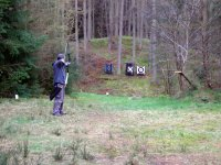 Shooting in the forest