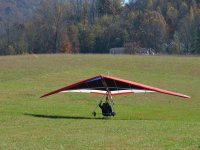 Landing the glider