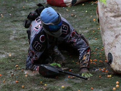 Paintball match in Agronovo with 200 paintballs