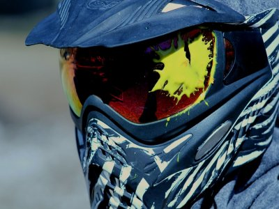 Paintball in Agronovo with 500 paintballs