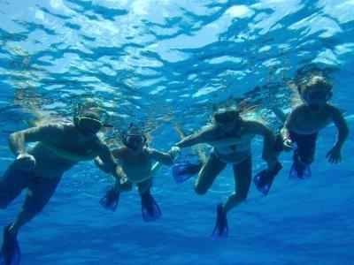 Snorkeling for Children in Isla Tabarca Reservoir