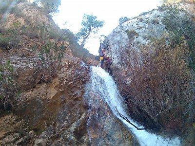 Mela ravine in Alicante for 3 hours