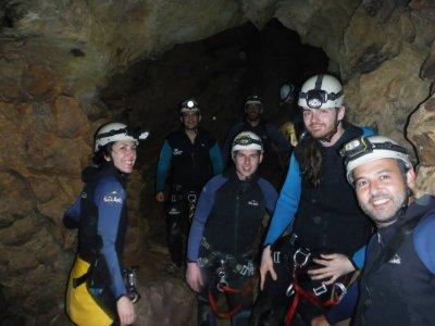 Caving in Cueva de los Chorros,1 Day