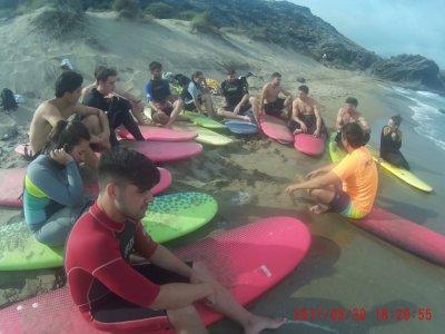 Surf cam at Mazarrón port, 6 days