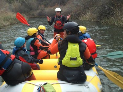 Rafting with a meal in the Cabriel river, 4h