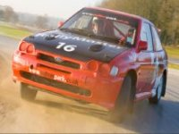Escort Cosworth Rally Car