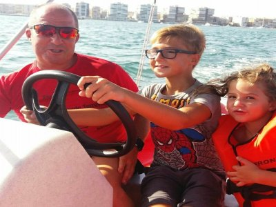 Rent A Boat w/ no license Torrevieja 1 Day