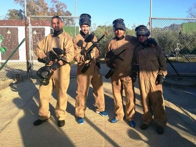 Paintball and Quad Trail Team Building in Turre
