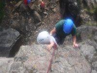 Starting the rock climbing journey