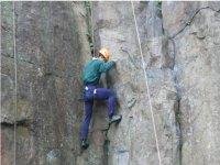 The art of rock climbing