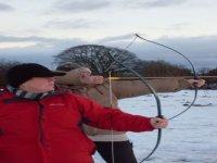 Enjoy archery in winter too!