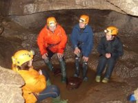 A short break underground