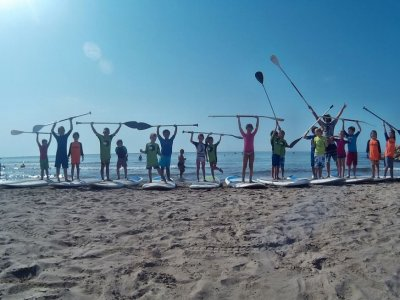 1-Hour 30 min Paddle Surfing Class in Sitges