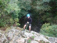 Abseiling in Cambria