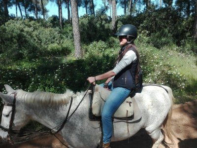 Private horse riding trip for couples in Doñana