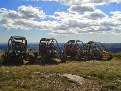 Two-seater buggy ride 3 hours Huesca