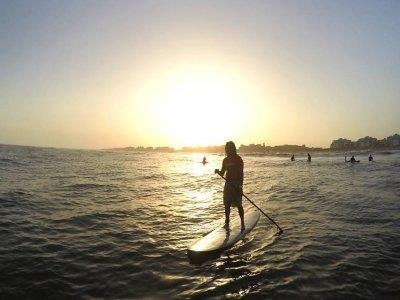 Paddle surf route Huelva 2 hours