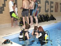 New Divers in the pool