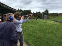 Have a go with Abbey Burton Shooting School Clay Pigeon Shooting