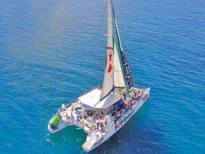 Catamaran ride from Lanzarote to Papagayo 5 hours